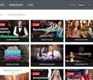 ttr casino live casino games-min