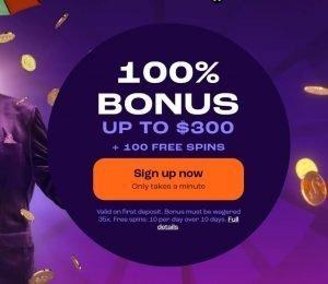 wheelz casino welcome bonus-min