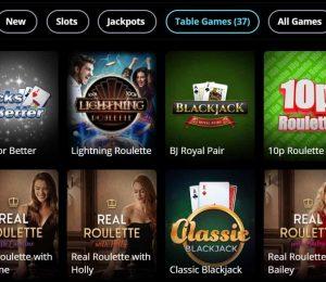 griffon casino live games-min