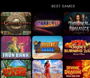 max cazino games-min