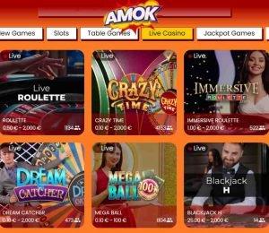 amok casino live games-min