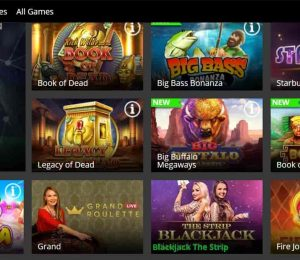 betregal casino featured games