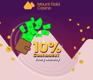 mount gold casino cashback