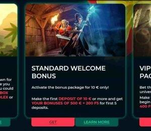 vesper casino bonuses and promotions-min