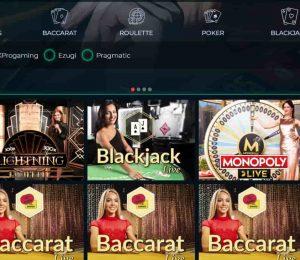 vesper casino live games-min