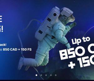 kosmonaut casino welcome banner-min