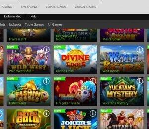 spinrio casino games-min