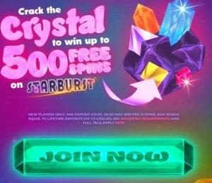 crystal slots casino welcome bonus-min