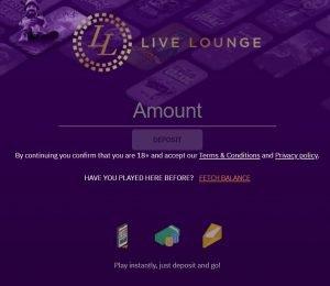 livelounge casino deposit-min