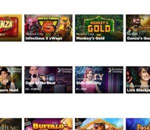 sir jackpot casino popular games-min
