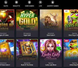 cobra casino games