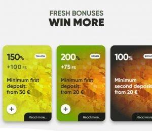 fresh casino promotions